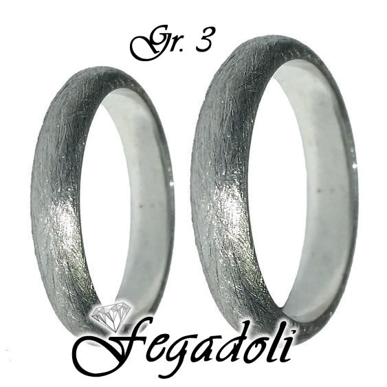 Fedi Modello White Diamond 3 Gr.