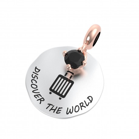 Charm Donna Rerum Passioni Discover The World In Argento Argento Con Onice